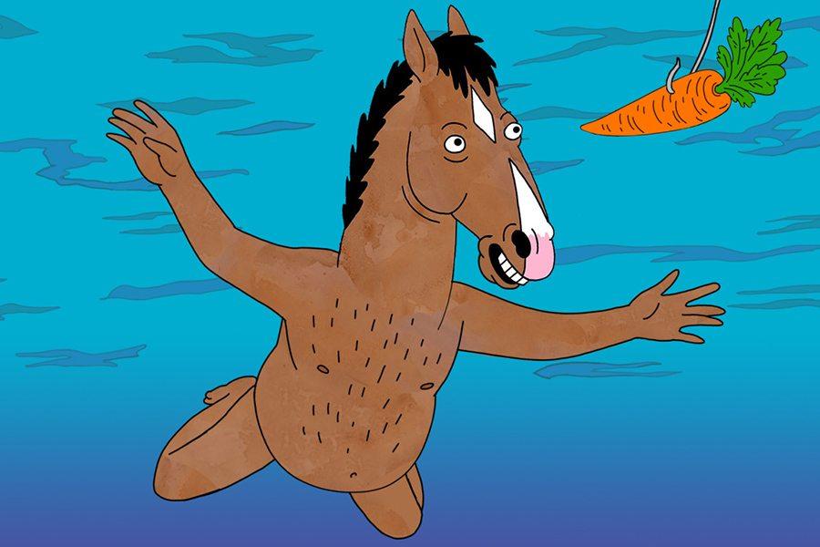 bojack horseman naked funny