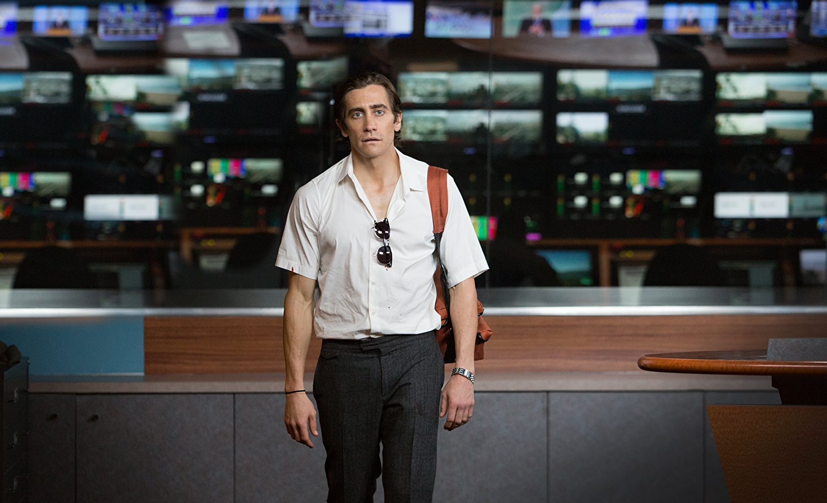 jake gyllenhaal in nightcrawler (2014) best roles of jake gyllenhaal
