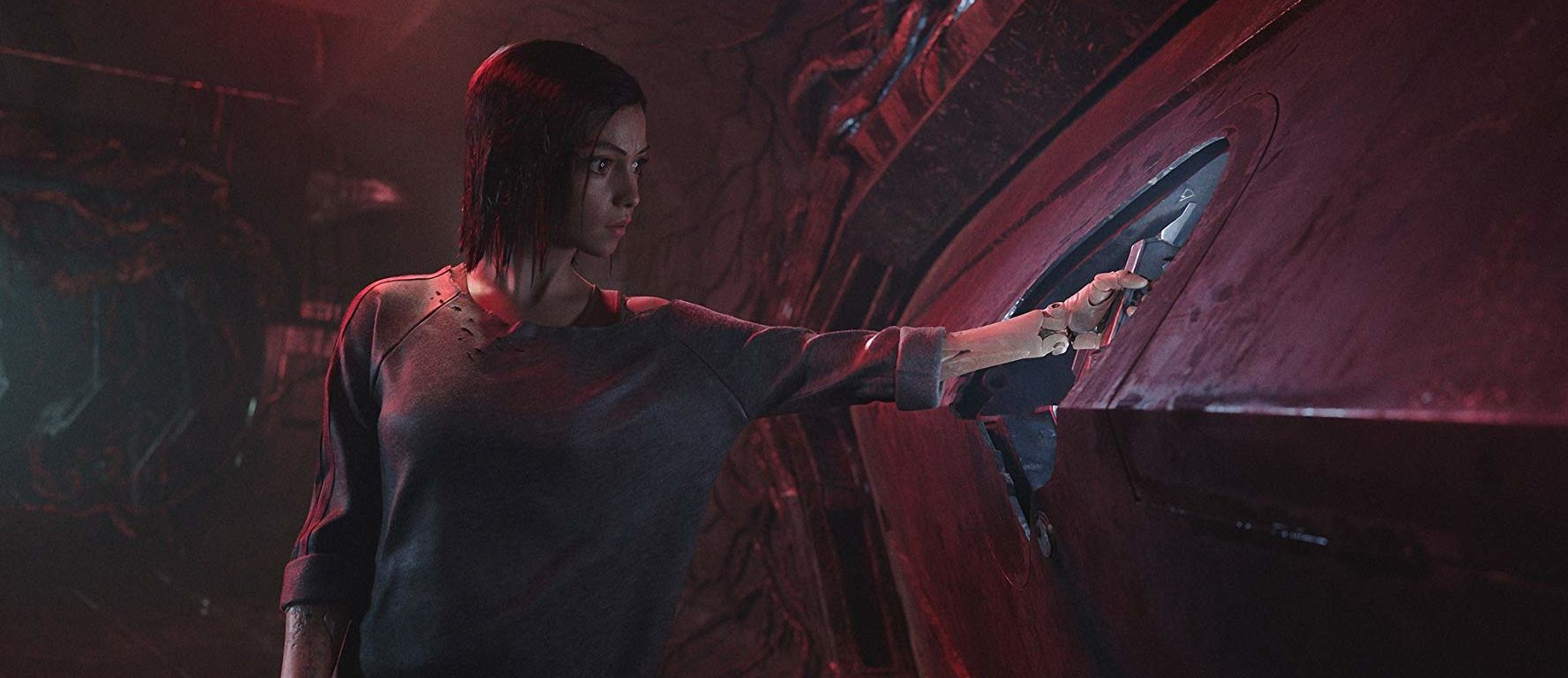 Alita: Battle Angel (2019) Rosa Salazar