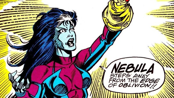 Nebula in comic book by Marvel