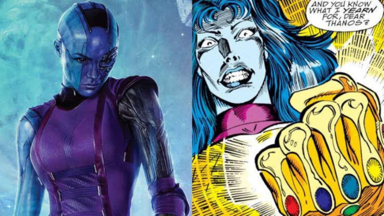 nebula karen Gillan vs nebula in comic books cultural hater
