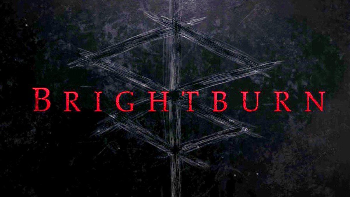 Official poster of Brightburn (2019) superhero horror movie