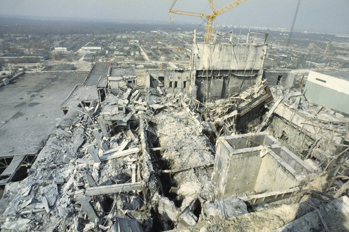 the reactor disaster in Ukraine, Chernobyl