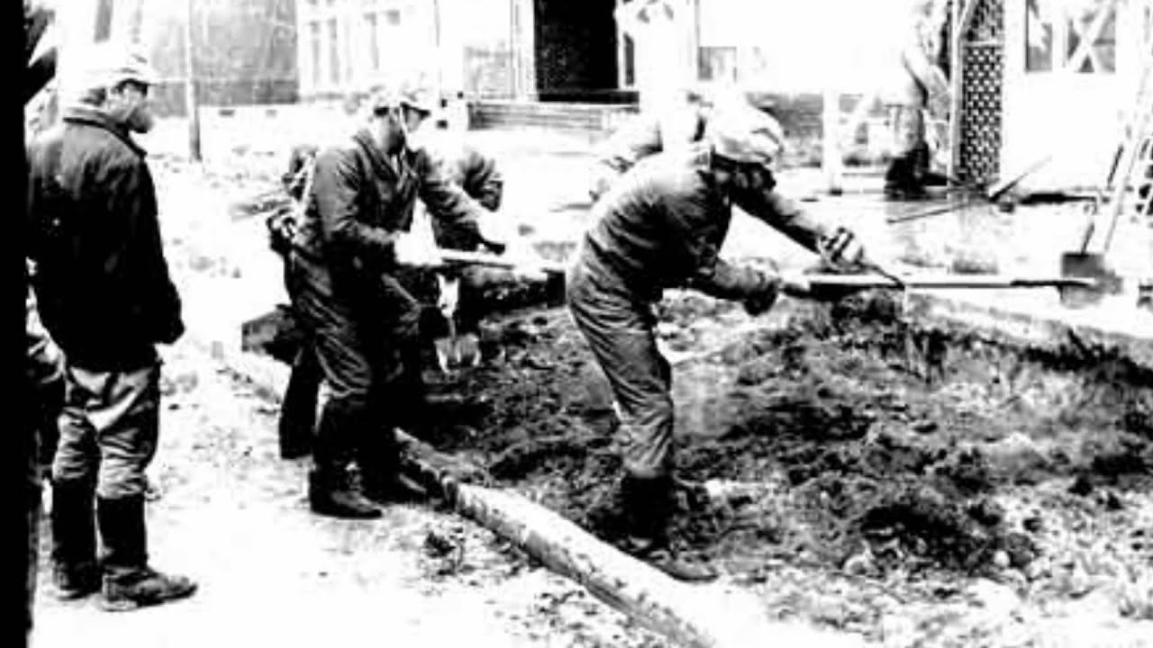 Liquidators in Chernobyl