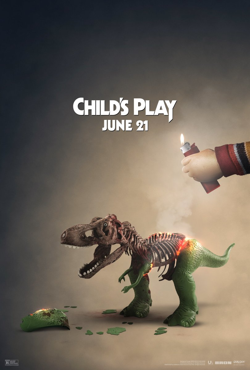 Dinosaur - Toy Story x Child's Play poster 2019 Cultural Hater