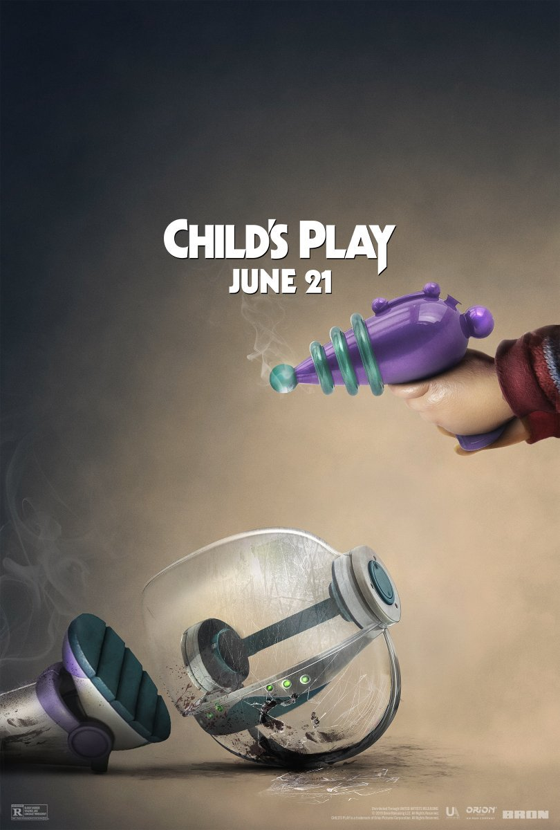 Buzz Lightyear - Toy Story x Child's Play poster 2019 Cultural Hater