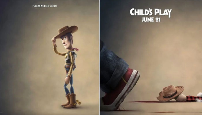 Woody - Toy Story x Child's Play poster 2019 Cultural Hater