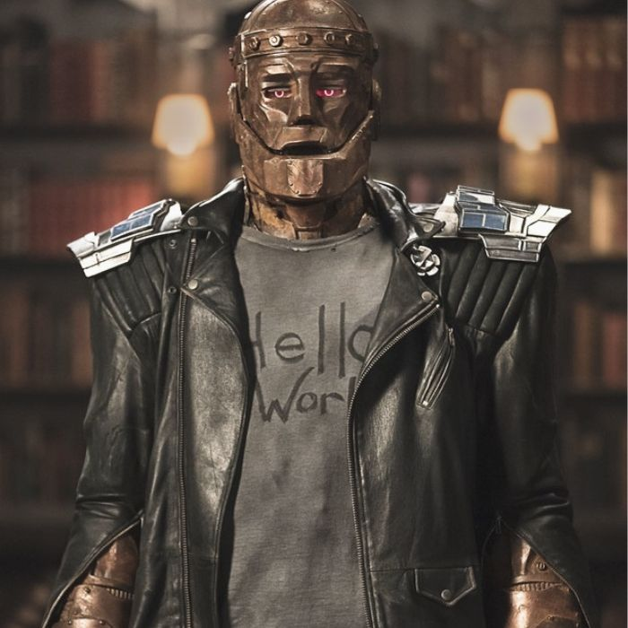 robotman aka cliff Steele from doom patrol