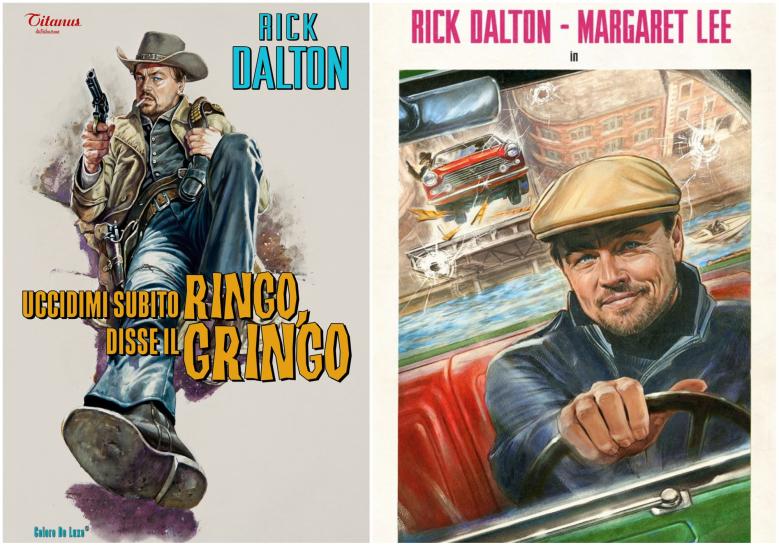 Rick Dalton's posters