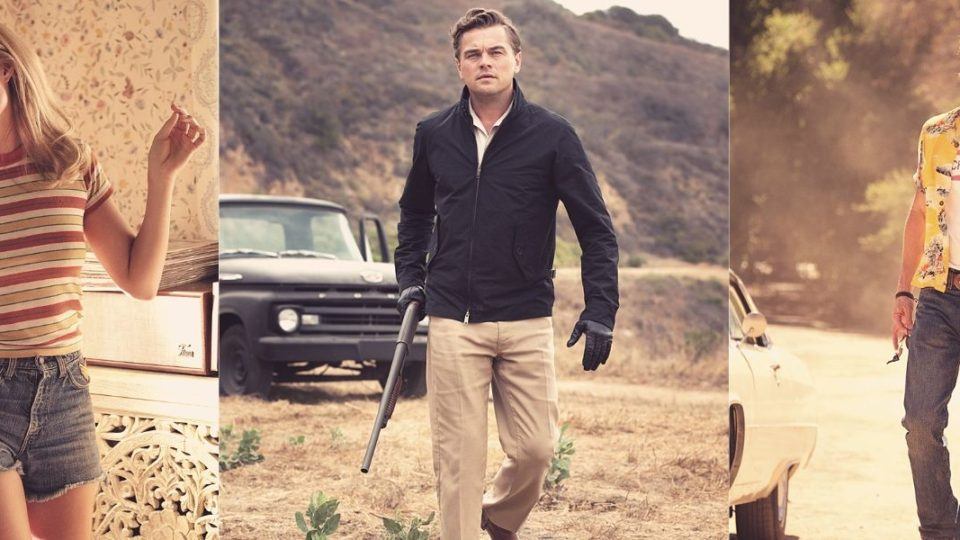 Leonardo DiCaprio, Margot Robbie and Brad Pitt in Once Upon A Time... In Hollywood