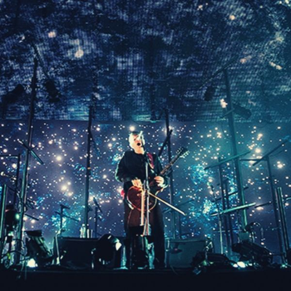Jónsi during Sigur Rós' live performance