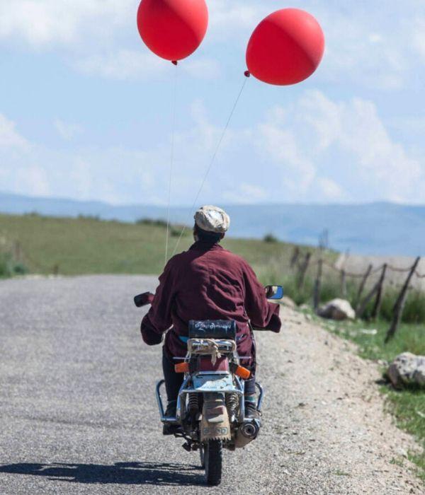 jinx on motor - balloon (qi qiu) 2019