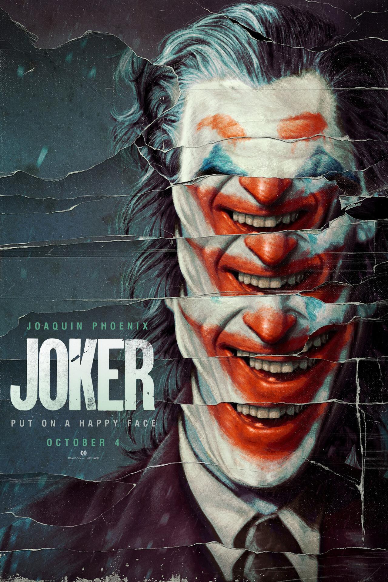 joker poster - multiple smiles