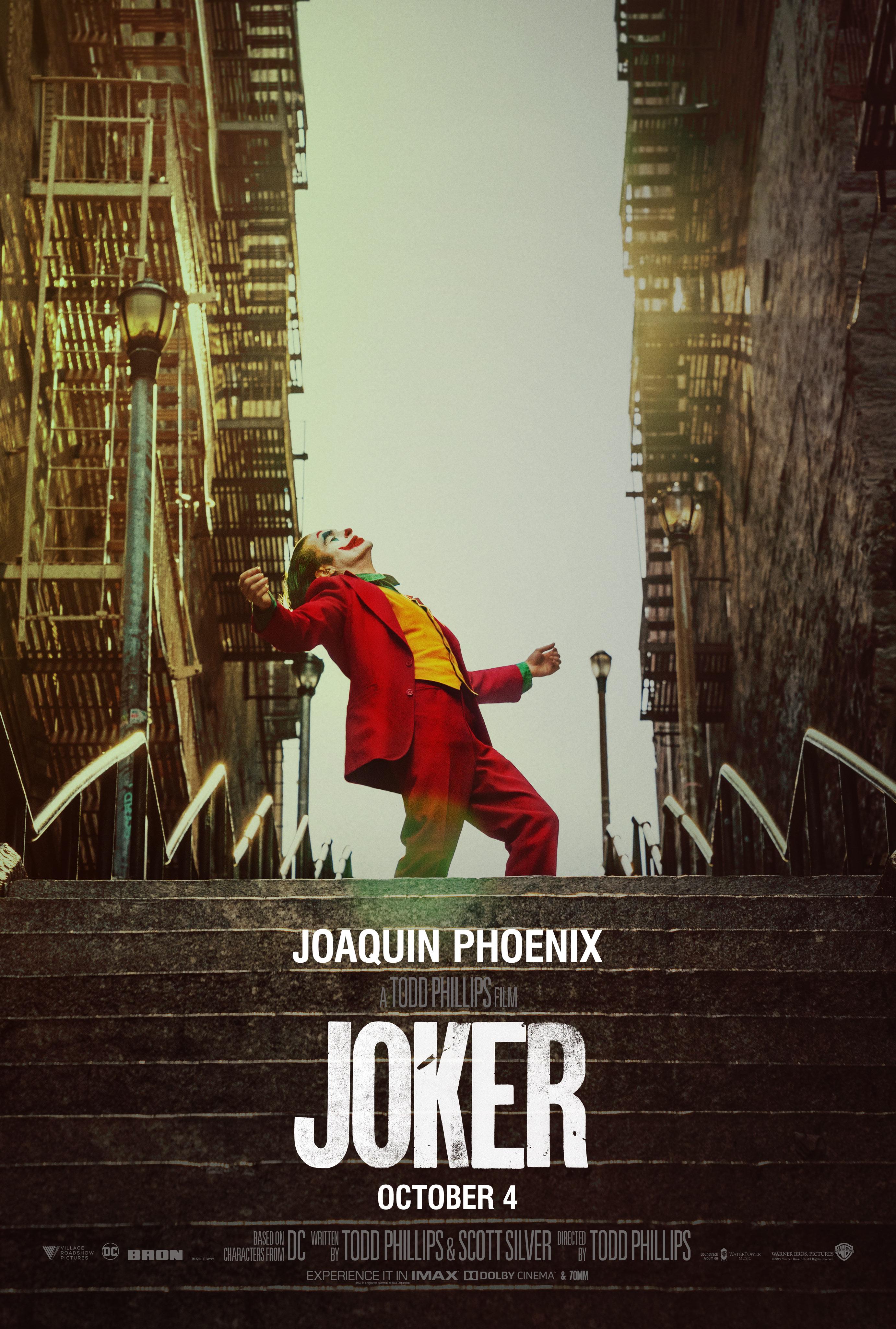 joker official poster