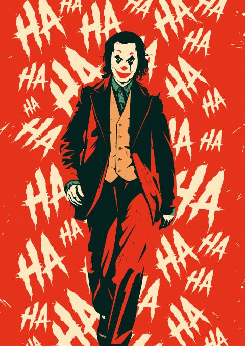 joker poster fan made poster spy