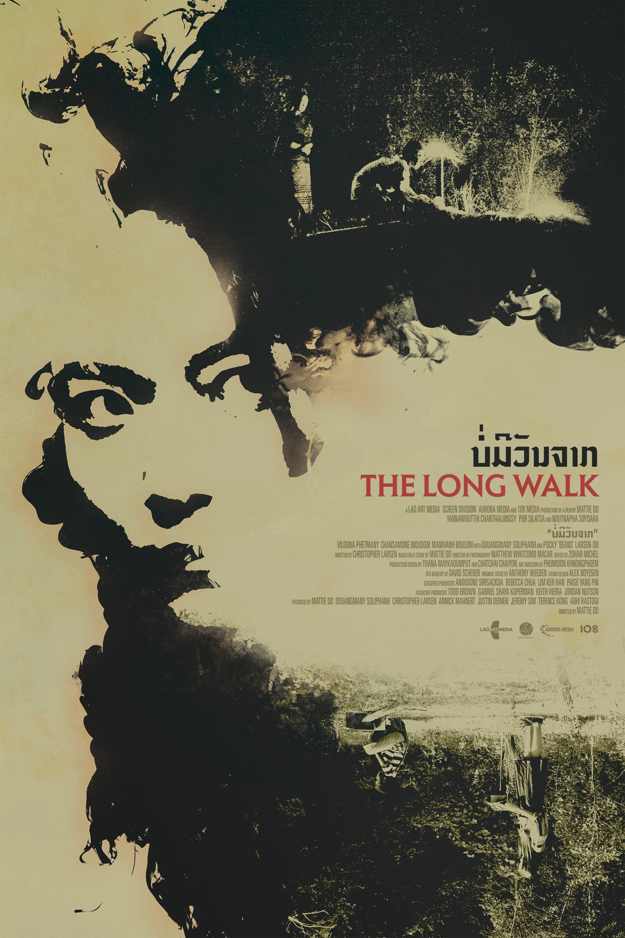 poster of the long walk by Mattie do (2019)