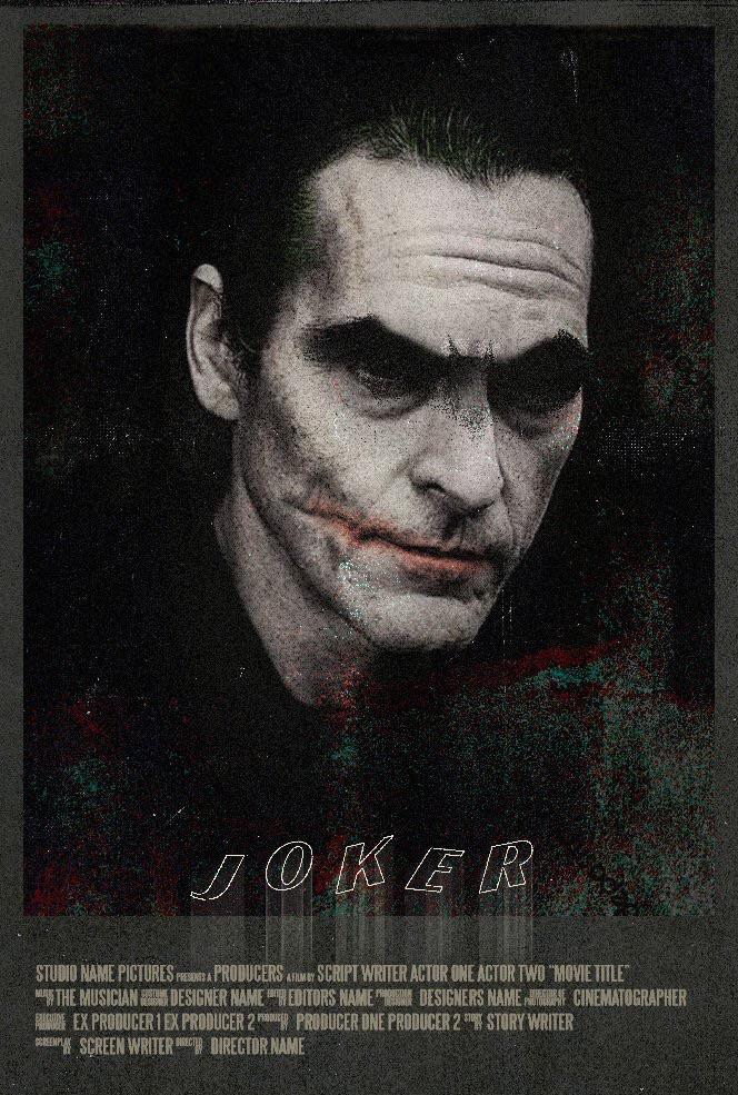 fan-made joker (2019) poster