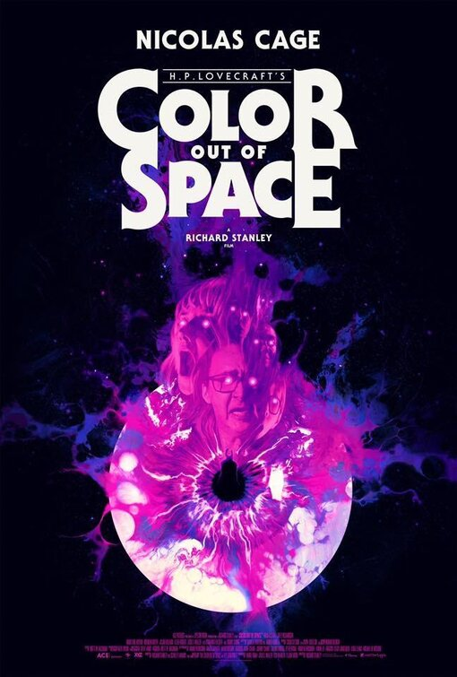poster color out of space 2019 review