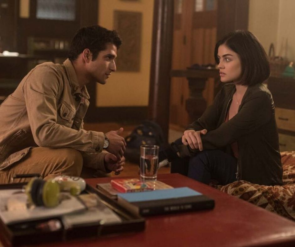 Lucy Hale and Tyler Posey in Truth Or Dare (2018)
