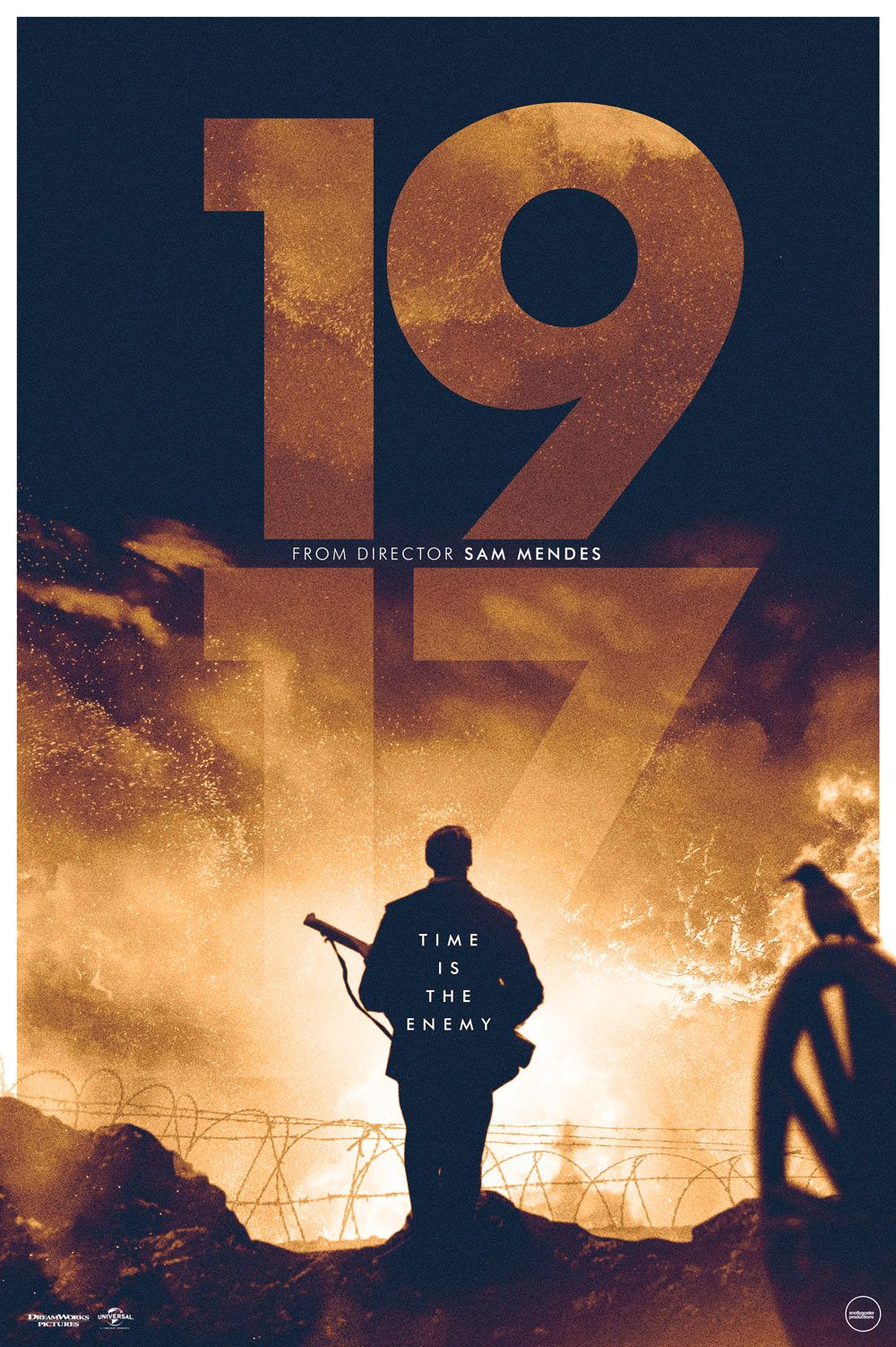 amazing fan-made poster of 1917