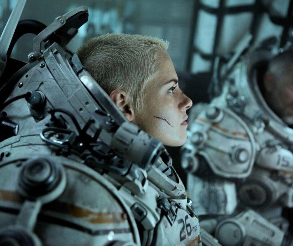 Kristen Stewart in willaim eubank's underwater (2020) sci fi thriller