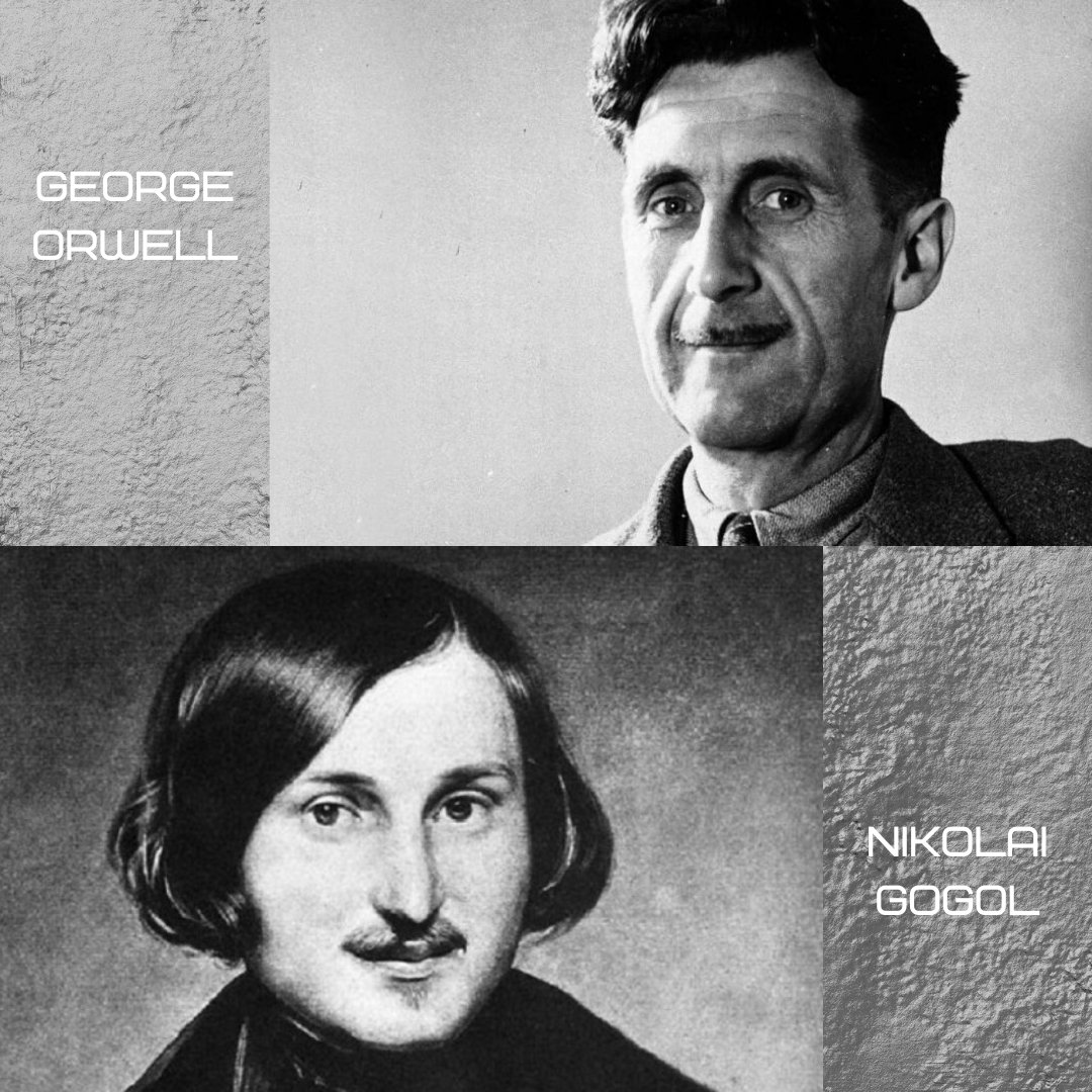 nikolai Gogol and georgre orwell parasite (2019) movie symbolism