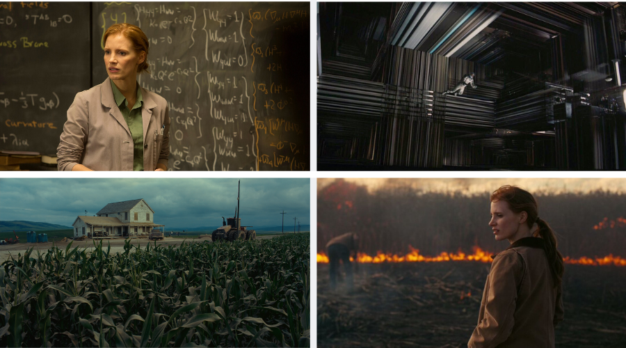 stills from interstellar 2014 - top visually stunning movies