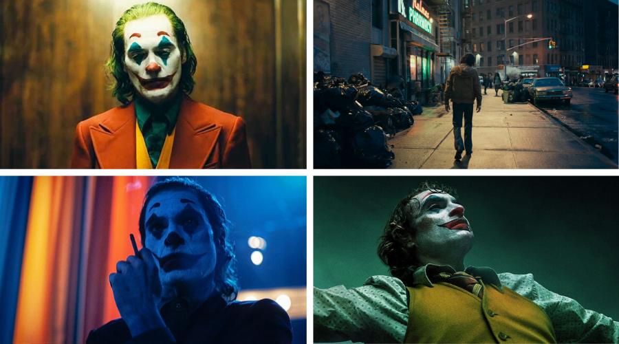 stills from the joker 2019 - best visually stunning movies