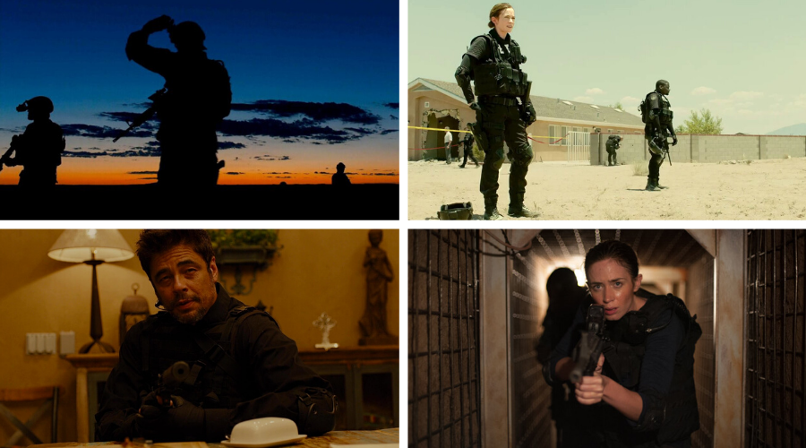 sicario 2015 stills - top visually stunning movies - Roger Deakins