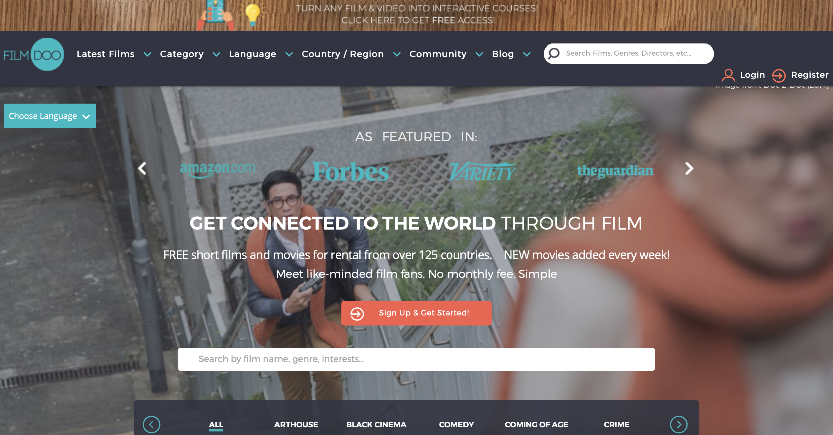 filmdoo streaming platform ranking by cultural hater