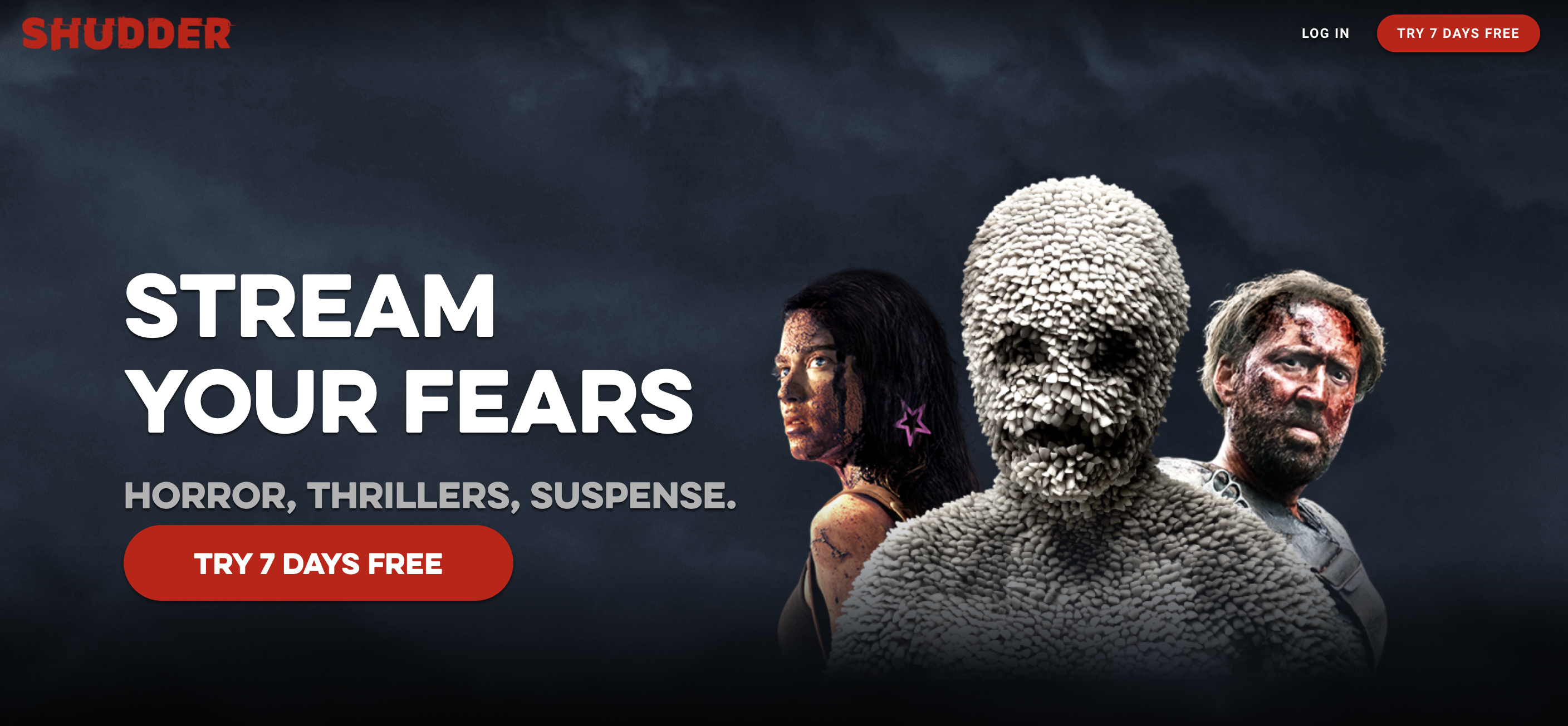 shudder movie streaming platform for horror genre