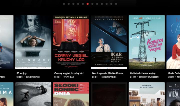 screenshot from e-cinema of kino Pod Baranami