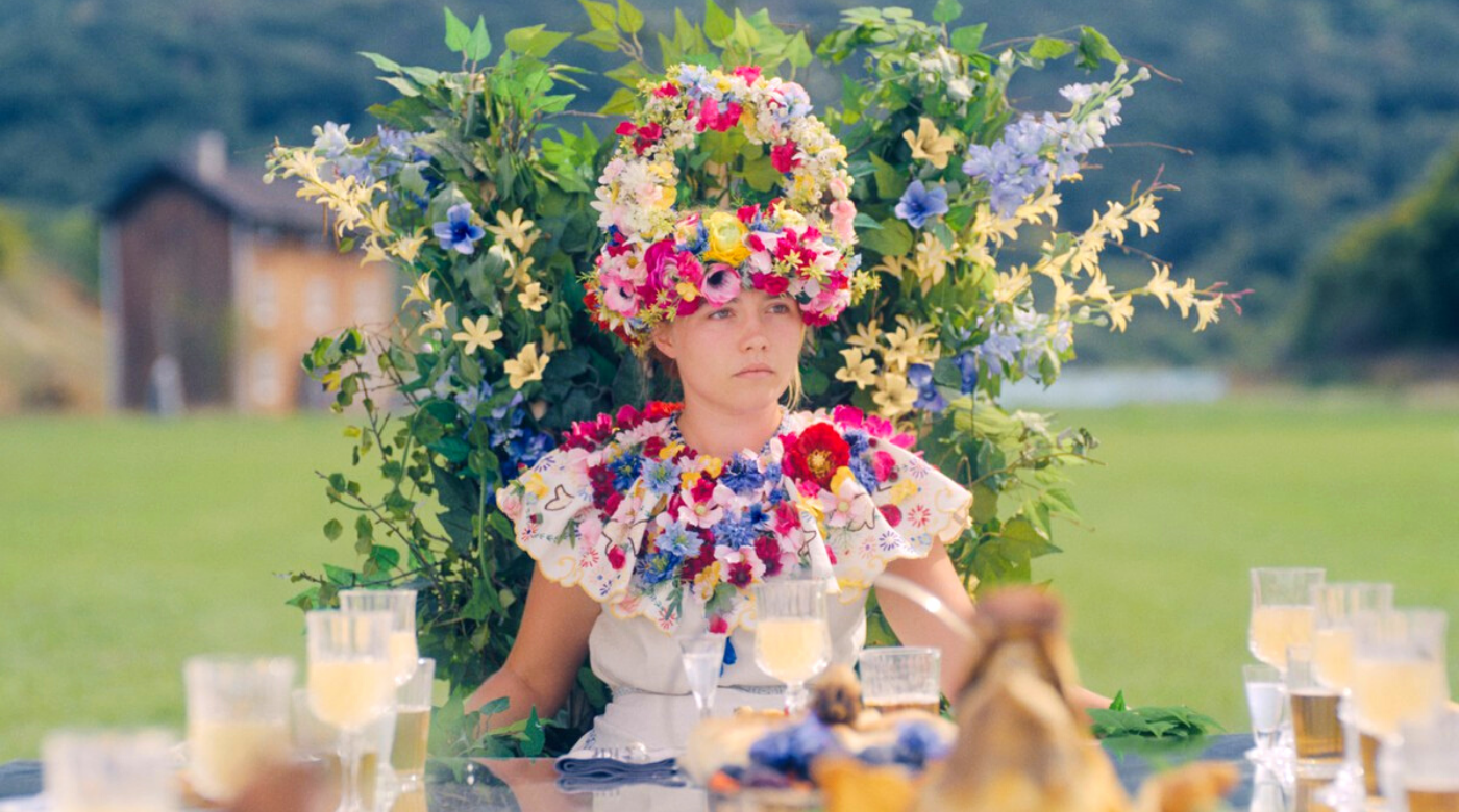 Florence Pugh as queen of may in midsommar 2019