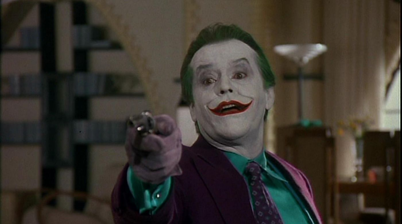 Jack Nicholson best quotes as the joker in batman 1989