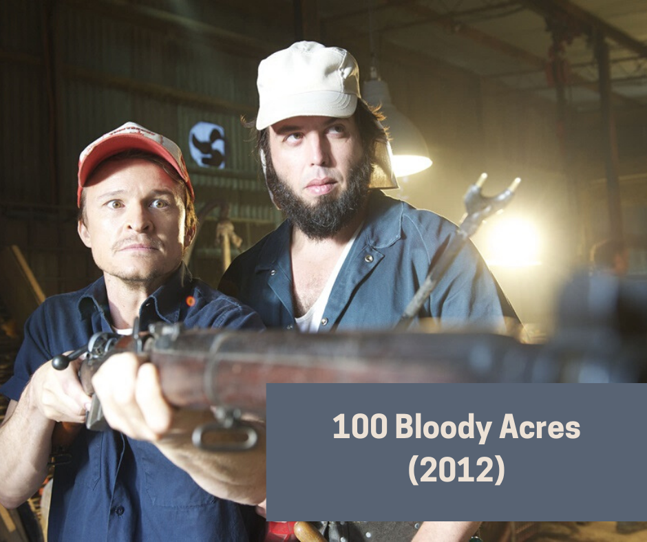 Australian gore horror movies - 100 bloody acres