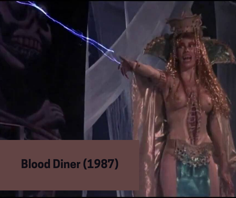 blood diner 1987 - still from the film