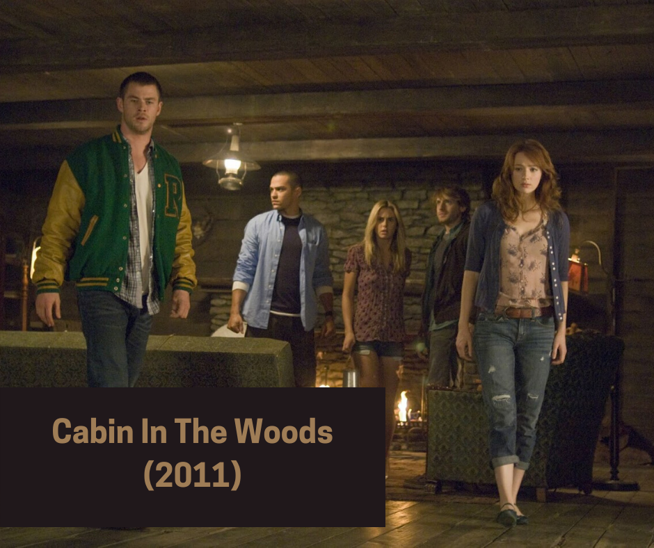 cabin in the woods 2011 - gore horror movies