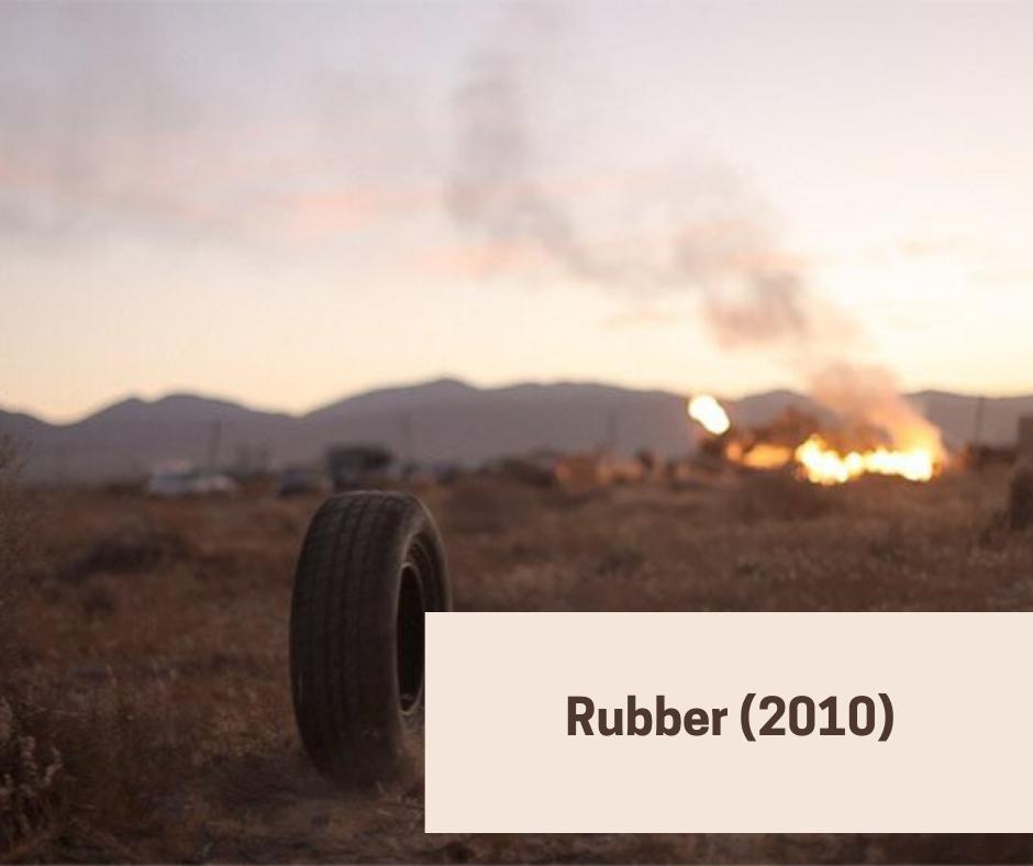 rubber 2010 - Quentin Dupieux gore horror movie