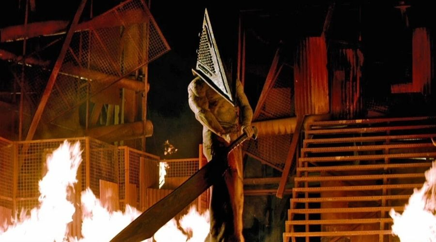 Red Pyramid monster in Silent Hill: Revelation (2012)