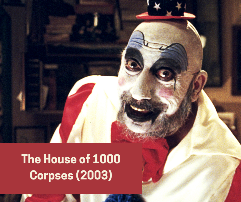 sid Haig in the house of 1000 corpses - gore horror movies