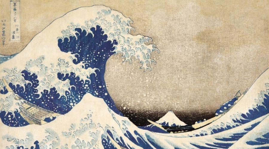 Katsushika Hokusai, Edo period, Japanese painting
