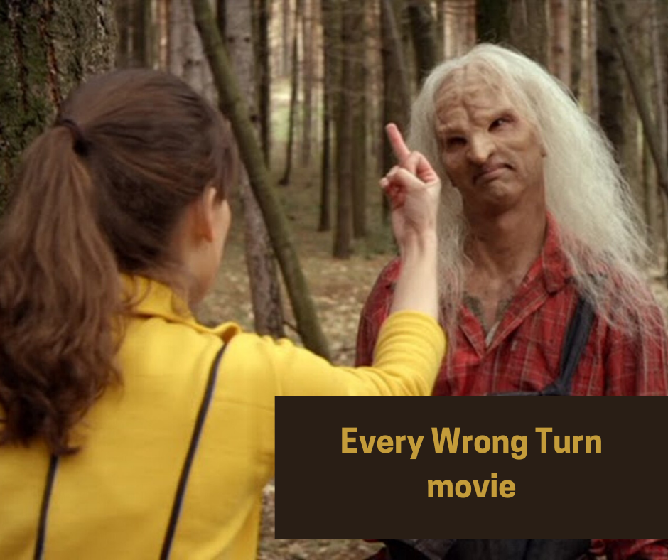 wrong turn funny scene