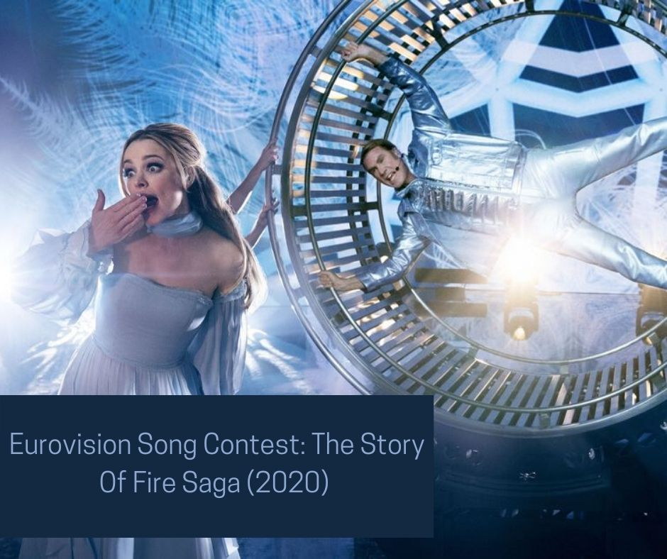 Rachel McAdams and Will Ferrel in Eurovision Song Contest: The Story Of Fire Saga (2020)