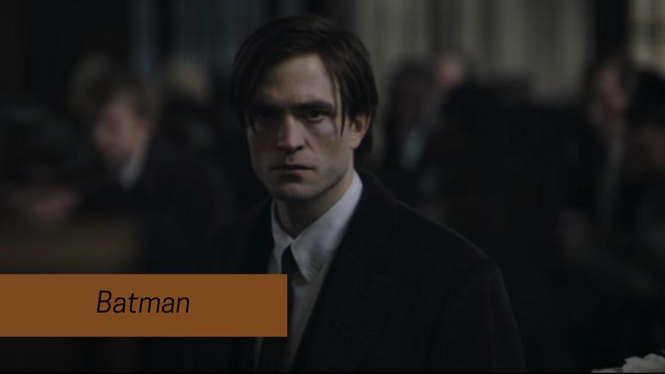 batman 2021 - Robert Pattinson as Bruce Wayne