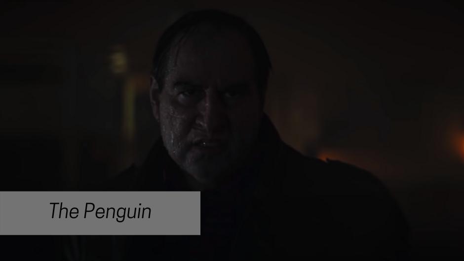 colin Farrell as the penguin in batman