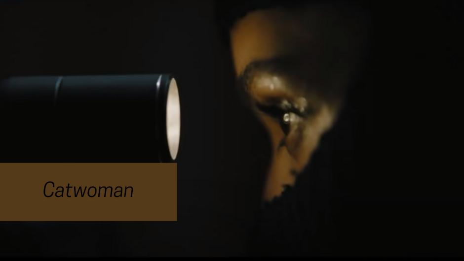 zoe Kravitz as cat woman in batman 2021