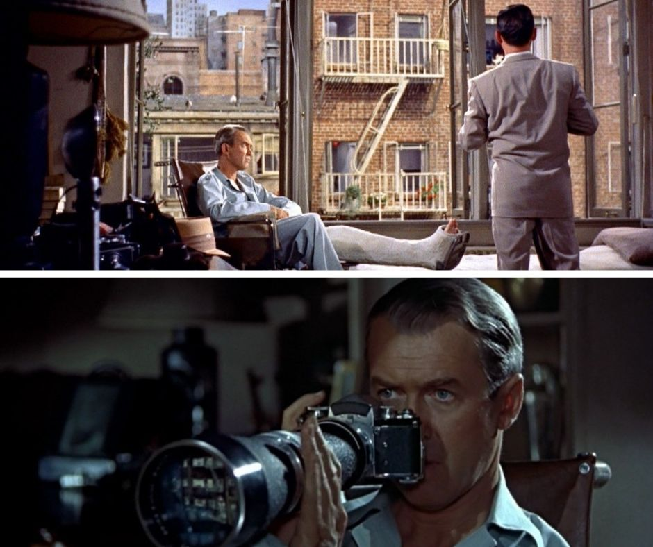 movies about isolation rear window 1954