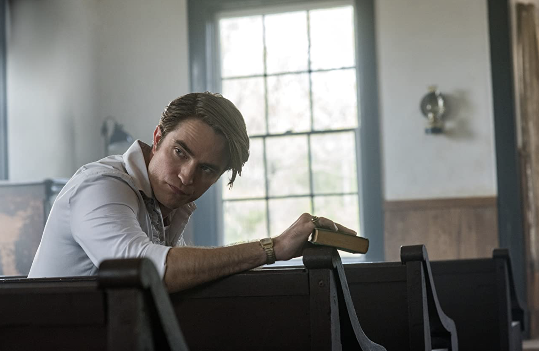 Robert Pattinson in The Devil All The Time (2020)