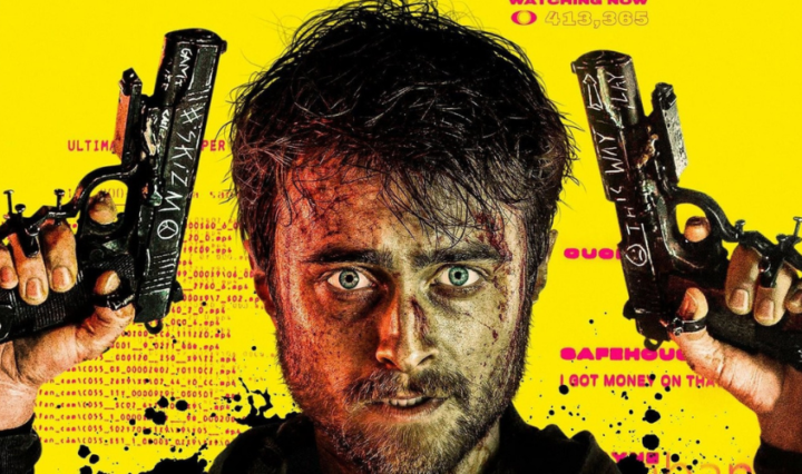 Daniel Radcliffe - poster of guns akimbo 2019