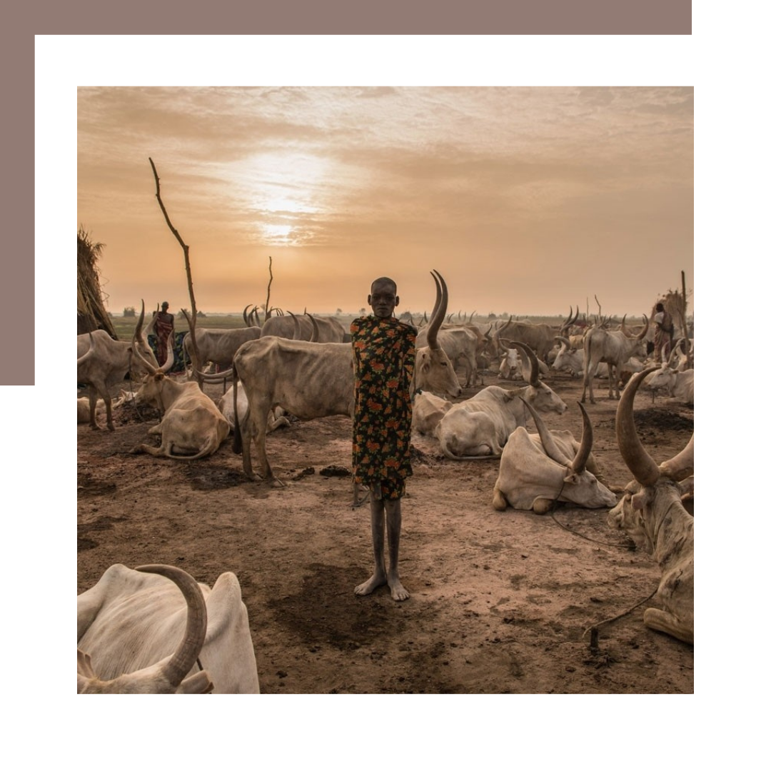 Sudanese tribe Dinka